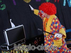 Animation clowns pour soirées et spectacles pour entreprise. Un moment de magie unique d'humour