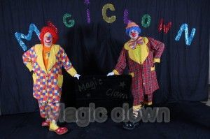 Mario et charlys les magic clown