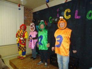Les candidats de la Clown academy
