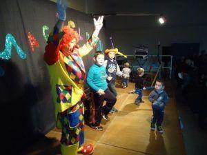 La danse des clowns à Esquerdes
