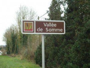 Arrivée en Picardie dans la vallée de la somme