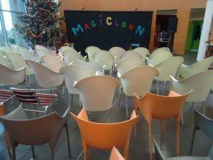 La salle du spectacle est prête