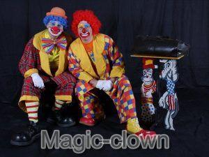 Un clown ! Chouette idée pour animer le goûter d'anniversaire à la maison de votre enfant