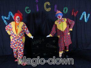 les clowns sur scéne