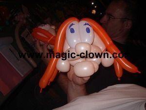 Amusez vous avec nos clowns sculpteurs de ballons
