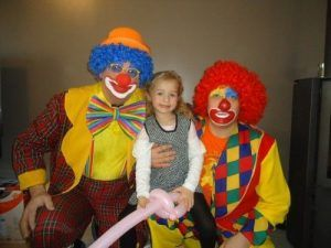 Les Magic Clowns avec Emmy