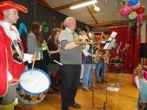 L'orchestre pour le carnaval