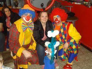 Les Magic Clowns et Katia