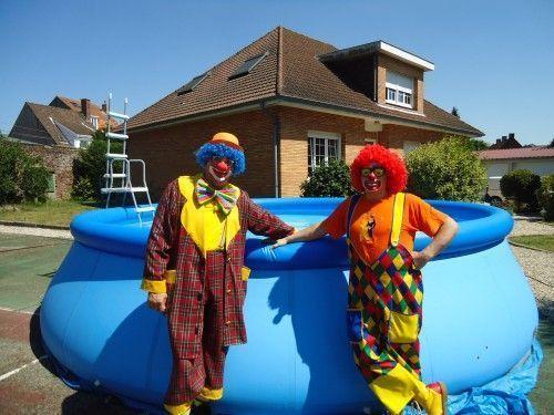 Les clowns charly 39 s et mario b thune for Piscine bethune
