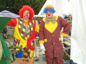 Charly's et Mario avant de monter sur scène