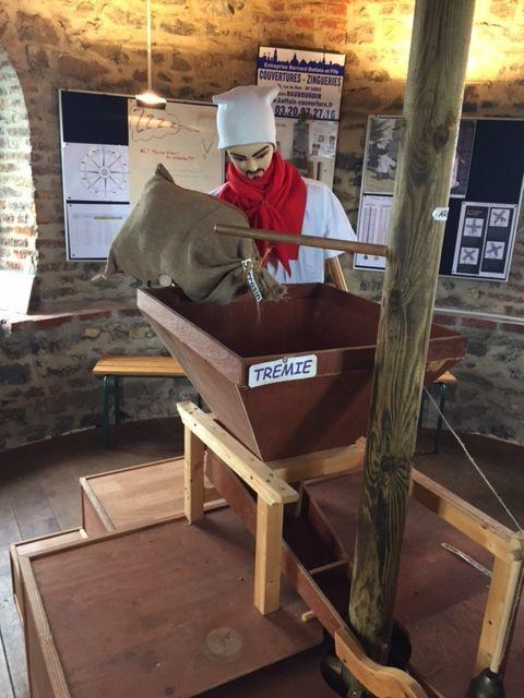 Les explications du métier de meunier