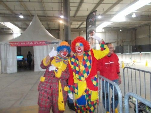 Les Magic Clowns à la fête