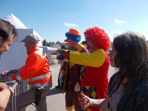 Les clowns en prennent plein la vue