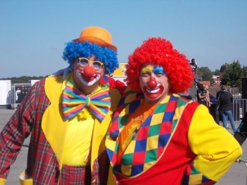Les Magic Clowns à Bruay Labuissière