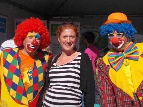 Séance Photo avec un futur amateur de clowns