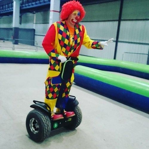 Charly's sur un Gyropode Segway
