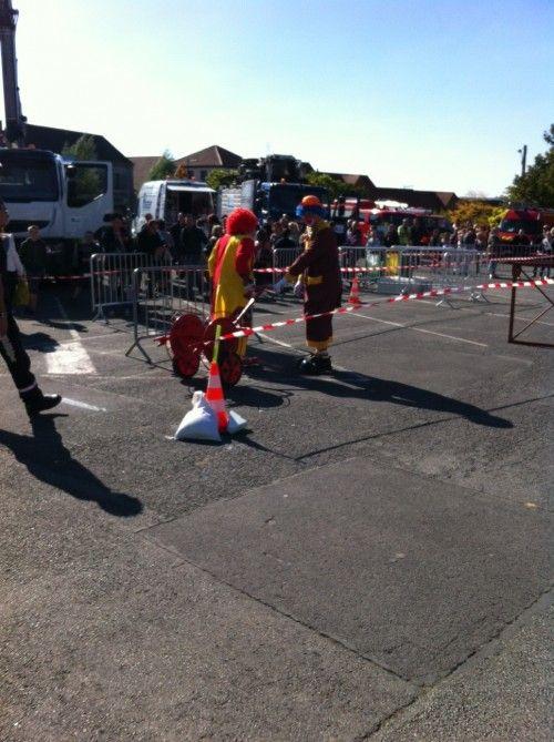Les Pompiers Clowns