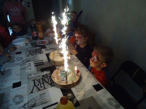 Les gâteaux d'anniversaire