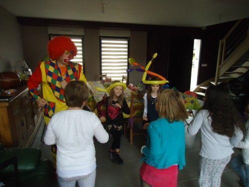 La danse des clowns à Rouvroy