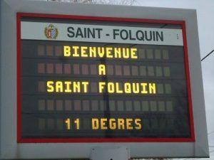 Les clowns arrivent à St Folquin