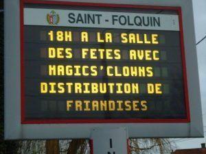 Le programme de la journée avec les magic clowns