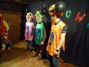 Les candidats de la Clown Académy