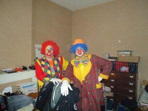 Charly's et Mario dans le bureau du maire