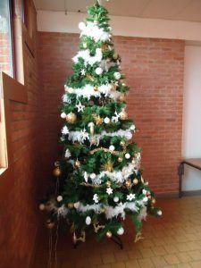 Le sapin de Noël décoré de Tilques