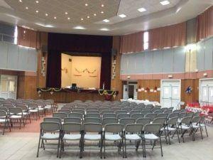 La salle Communale est prête
