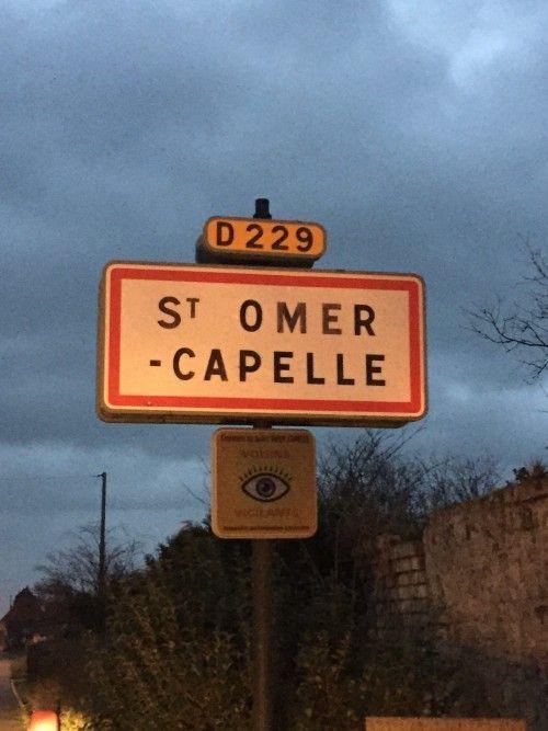 Charly's et Mario arrivent à Saint Omer Capelle
