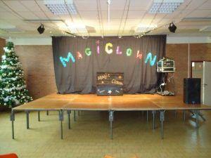 Le spectacle MagiClown peut démarrer
