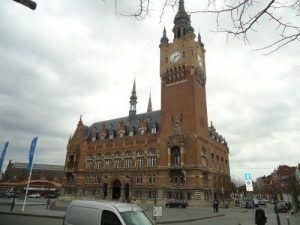 La mairie d'Armentières