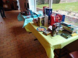 La table des cadeaux