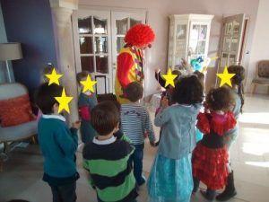 La danse des clowns avec Mario et Charly's
