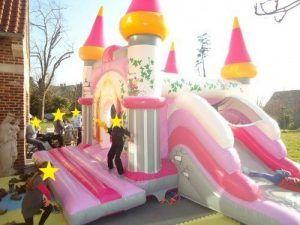 Le château gonflable