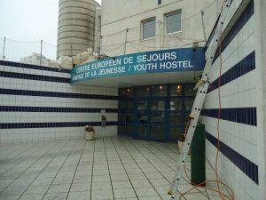 L'auberge de jeunesse de Calais