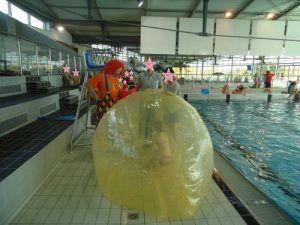 Aqua Ball pour marcher sur l'eau
