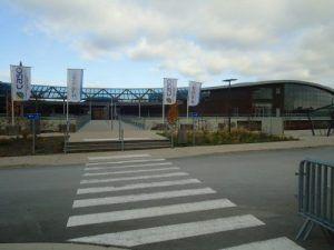 Le centre Aquatique Scénéo