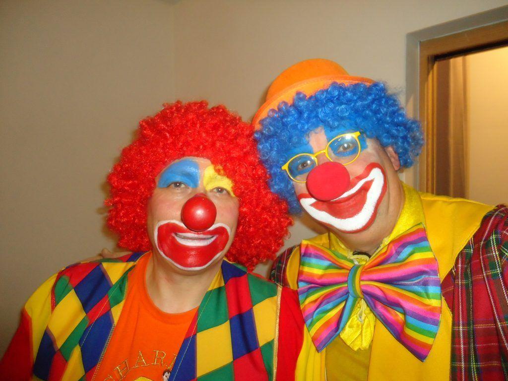 Charly's et Mario les clowns à domicile