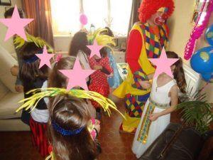 La danse des clowns...hou hi hou ha ha !!!