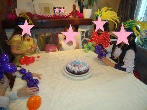 Le gâteau d'anniversaire de Camille pour ses 8 ans