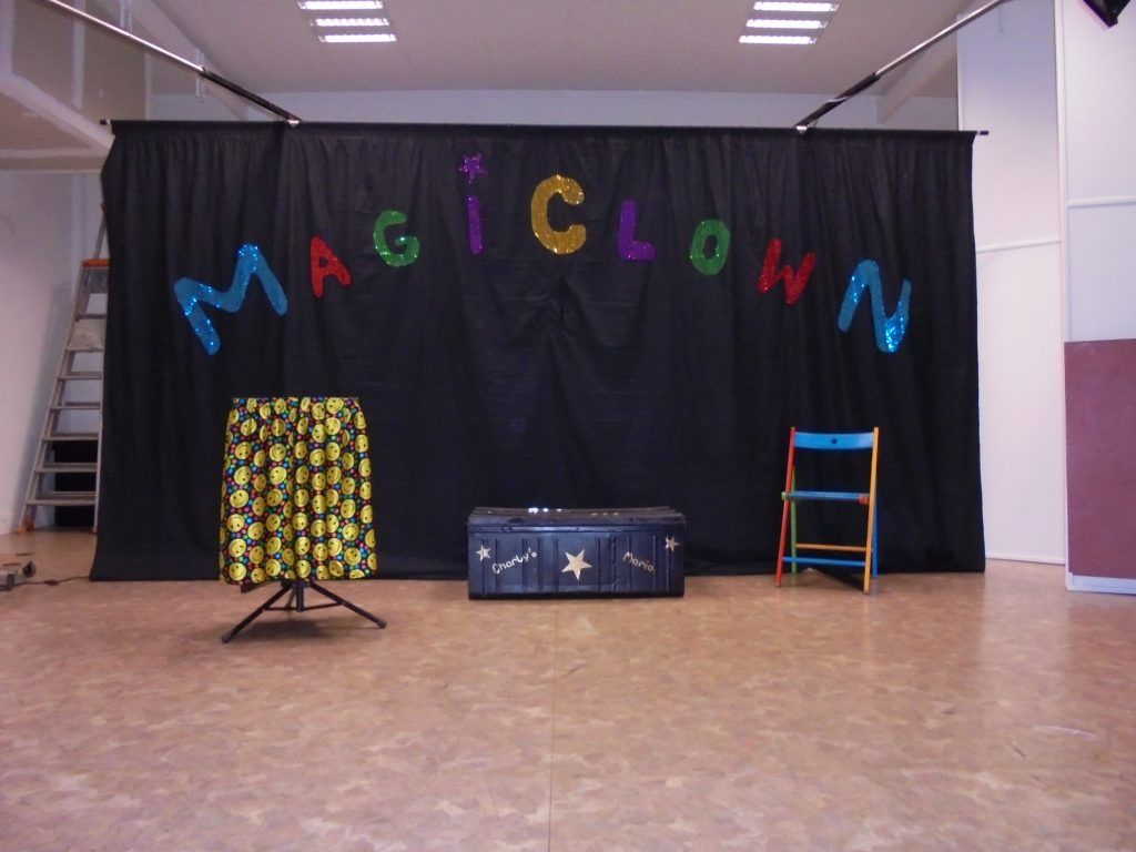 Le spectacle Magiclown avec Mario et Charly's