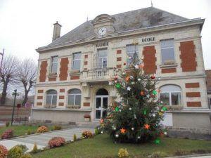 La mairie de Monchy le Preux