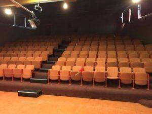 La salle de spectacle à l'Omep de Wattrelos