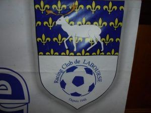 Le blason du racing club de Labourse
