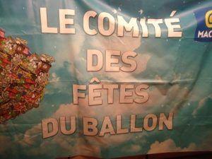 Le comité des fêtes du ballon