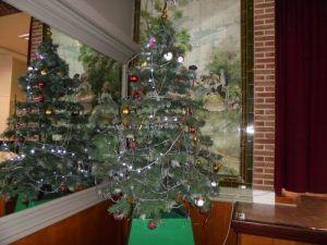 Le sapin de Noël de la salle des fêtes de Labourse