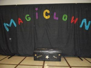 Le spectacle Magiclown va commencer avec Mario et Charly's