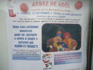 Les Magic clowns vont venir à Pihem