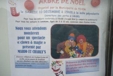 spectacle de clown pour enfants à Pihem